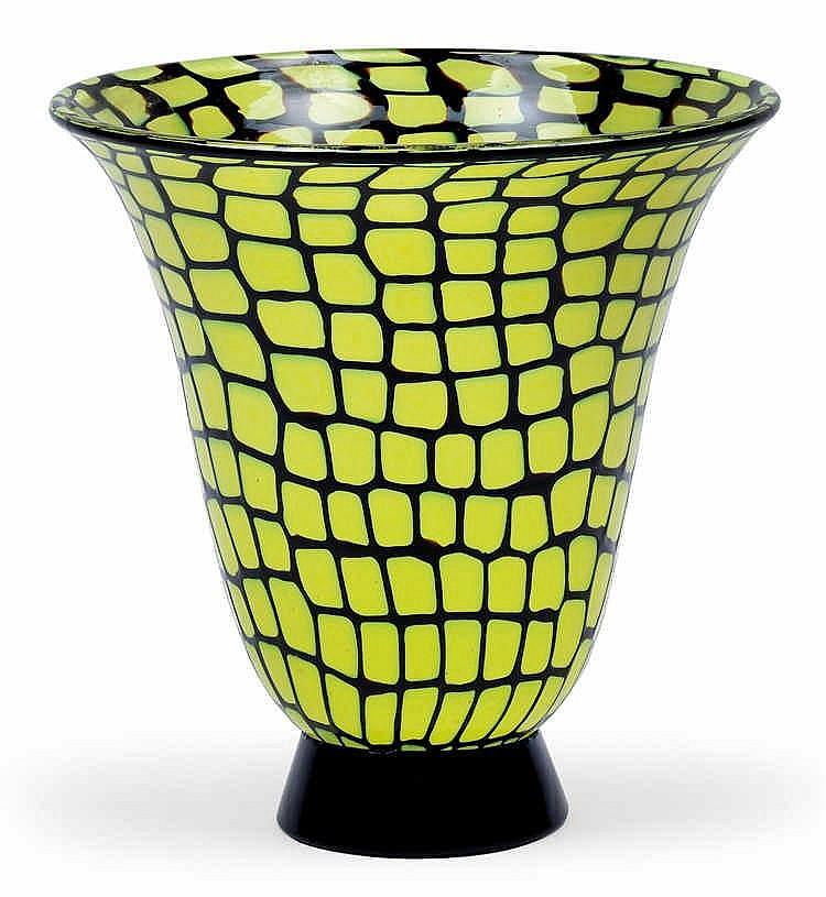 "Ercole Barovier, A ""Neomurrino"" vase,"
