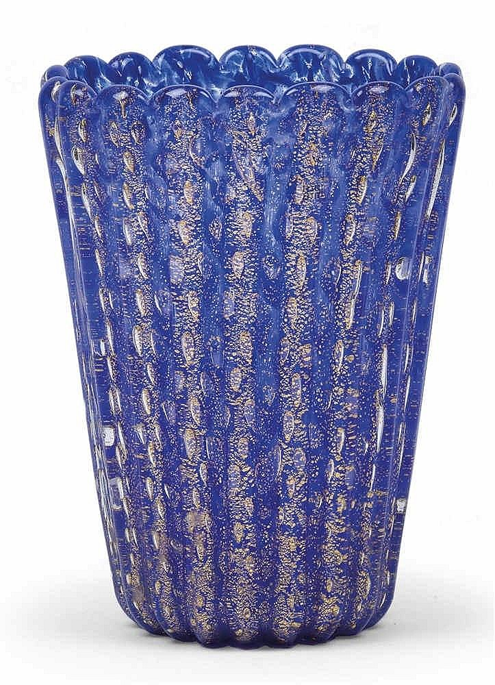 A vase by Barovier & Toso,