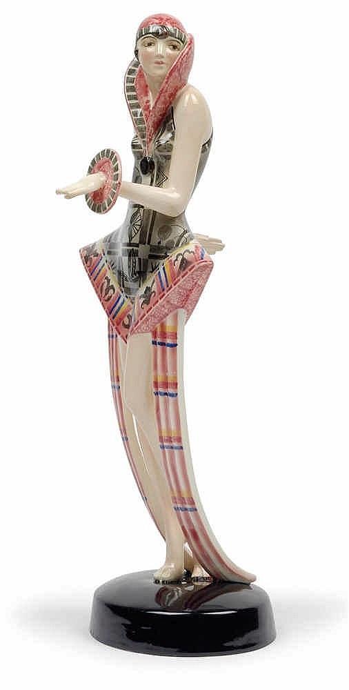 """Stefan Dakon, A """"Modern"""" figurine,"""