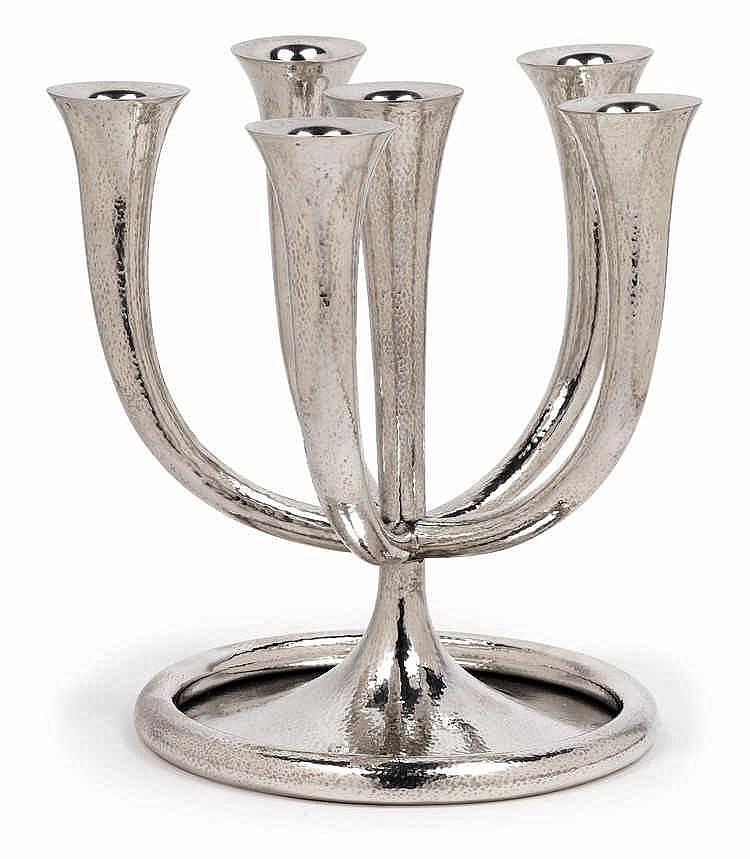 Josef Hoffmann, A six-arm candelabrum,