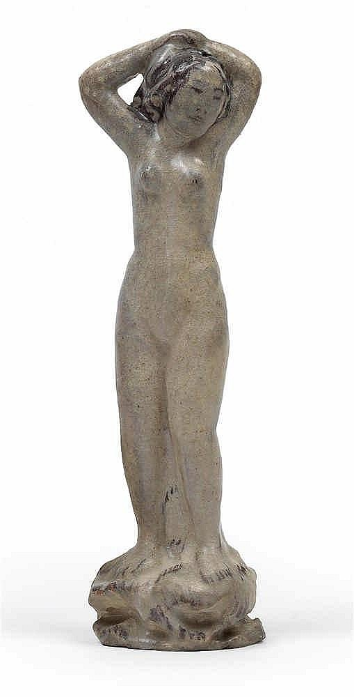 Max Laeuger (1864 Lörrach 1952), A nude girl,