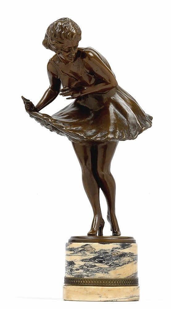 Wilhelm Thomasch (Teplitz-Schönau 1893-1964 Sierndorf), A dancing girl,