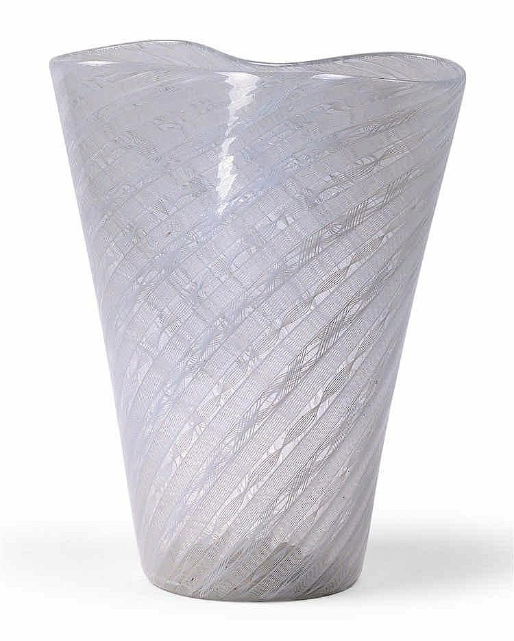 "Paolo Venini (1895-1959), A ""zanfirico"" vase,"
