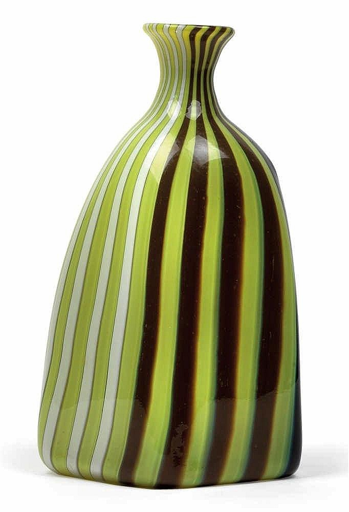 A vase by Fratelli Toso,