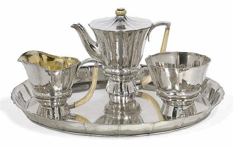 Josef Hoffmann, A four-piece tea service,