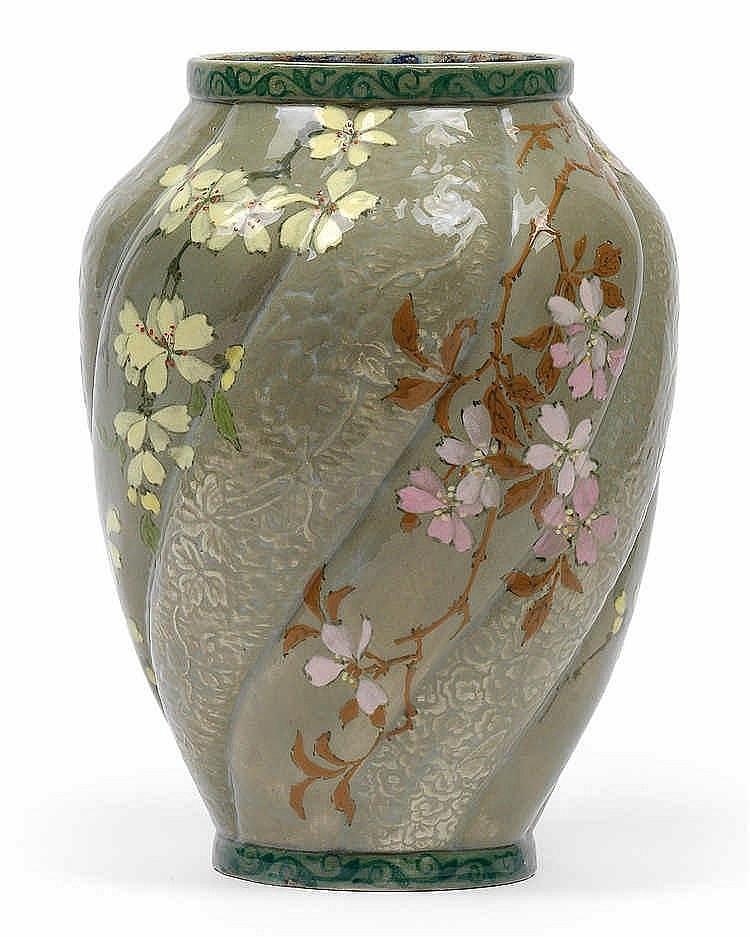 Edmond Lachenal (1855-1930), A vase,