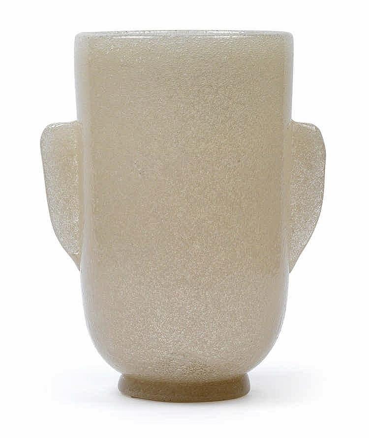 "Carlo Scarpa (1906-1978), A vase ""a bollicine"","