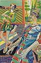 Heinz Stangl *(born 1942 in Vienna) Garden room,, Heinz Stangl, Click for value