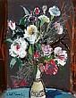 Hans Robert Pippal(Vienna 1915-1998) Flowers,