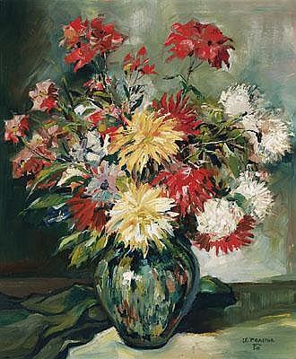 Stefan Praschl(Vienna 1910-1994) Bouquet of autumn