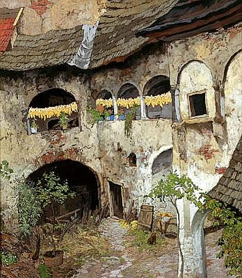 Hugo Hodiener (Hodina)(Trübau, Moravia 1886-1945