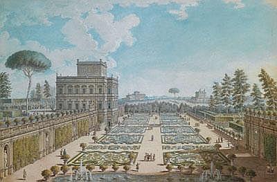 -Francesco Panini (Roma 1745 -1812) Ansicht mit