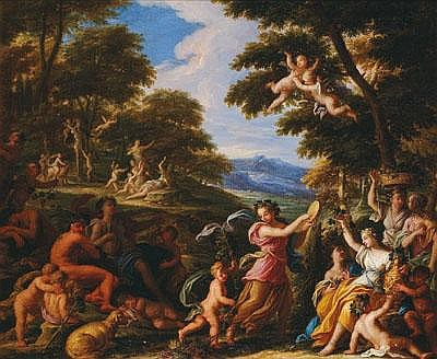 -Filippo Lauri (Roma 1623 -1694) Allegorie des Fr
