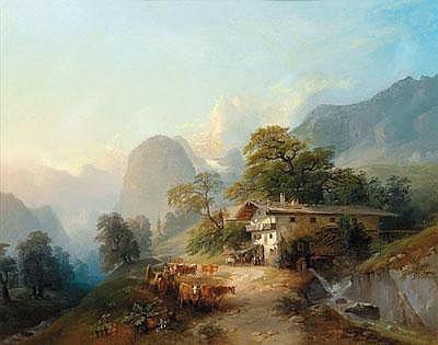 Franz Barbarini (Znaim 1804-1873 Wien)