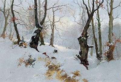 Antal Neogrady (Galsa 1861-1942 Budapest) Sonniger