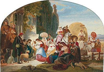 August Ferdinand Hopfgarten (Berlin 1807-1896)