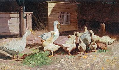 Robert von Haug (Stuttgart 1857-1922) Eine