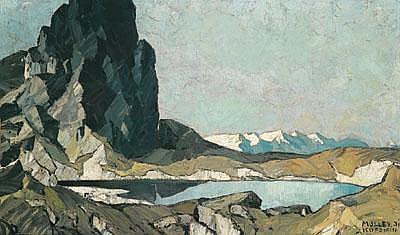 Oskar Mulley (Klagenfurt 1891-1949 Garmisch)