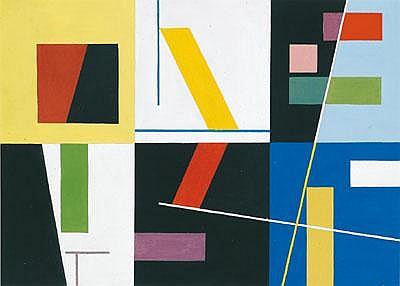 Sophie Taeuber-Arp (Davos 1889-1943 Zürich) Six