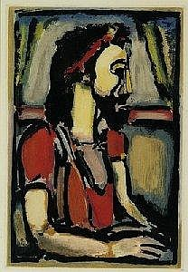 [ Modern and Contemporary Art ]  Georges Rouault   E3 400-3 600