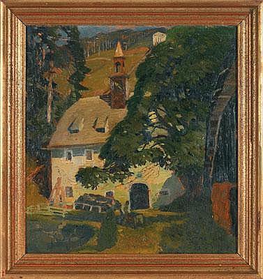 Alfred Pöll (Oberndorf/Salzburg 1867-1929 Gmuden)