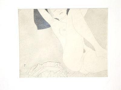 Hans Thomas (born 1903 in Mödling) Female nude;