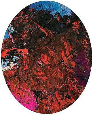 Hubert Scheibl * (born 1951 in Gmunden) Untitled,