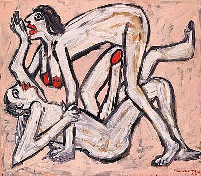 Otto Muehl * (Grodnau 1925 geb.) Papyrus Porno