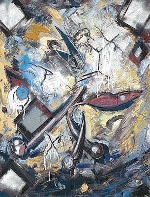 Christian Ludwig Attersee * (Wien 1940 geb.)
