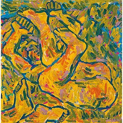 Otto Muehl * (Grodnau 1925 geb.) Liebespaar,