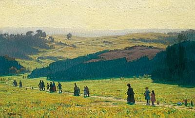 Hugo Köcke (Berlin 1874-1956 Westerland/ Sylt)