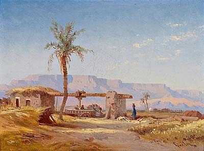 Bernhard Fiedler (Berlin 1816-1904 Trieste) The