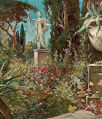 Gustav Koken (Hanover 1850-1910) Italianate