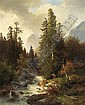 Carl Hasch (Vienna 1834-1897) View of the Ramsau, Carl Hasch, Click for value