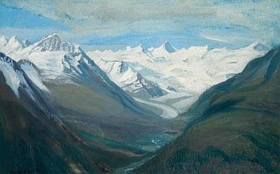 Emmy Lischke (Elberfeld 1860-1919 Munich) Glacial