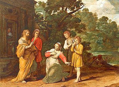 Pre-Rembrandtist, c. 1630 The Prophet Elijah and