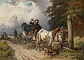 19th Century Painting/ Watercolour by: Adolf van