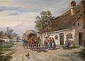 19th Century Painting/ Watercolour by: Ludwig