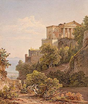 Friedrich Horner(Switzerland 1800-1864) in