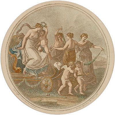 William Wynne Ryland(London 1732-1783) The triumph