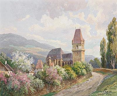Karl Flieher(Vienna 1881-1958 Zell/See)