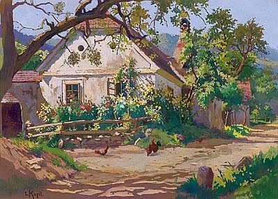 Liesl Kinzel(Vienna 1886 - 1961 Spitz/Donau) An
