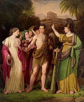 Ription Franz Bernhardt the Younger (Vienna 1800 -