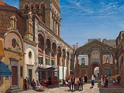 Jean Baptiste van Moer (Brussels 1819-1884) View