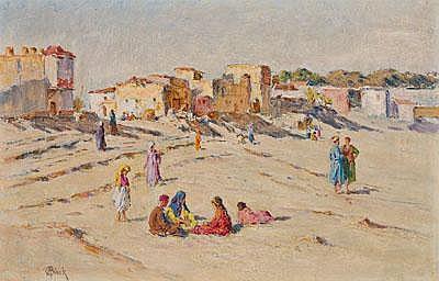 Alphonse Birck (born 1859 France) Oriental Street