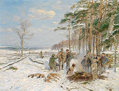 Hugo Mühlig (Dresden 1854-1929 Dusseldorf) After