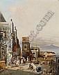 Robert Alott (Graz 1850-1910 Wien) View of Naples,, Robert Alott, Click for value