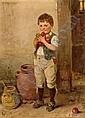 Hugo Oehmichen (Borsdorf b. Leipzig 1843-1933) The, Hugo Oehmichen, Click for value