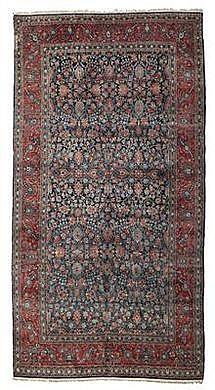 Keshan, Central Persia (Iran), approx. 530 x 310