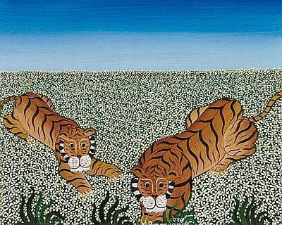 Yannis Amoryanos * (Greece, around 1975) 2 Tigers,